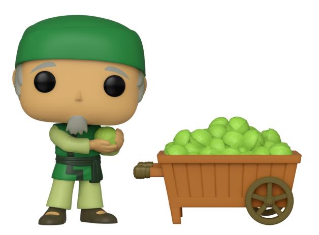 Avatar: Cabbage Man & Cart - Pop! Vinyl 2-Pack