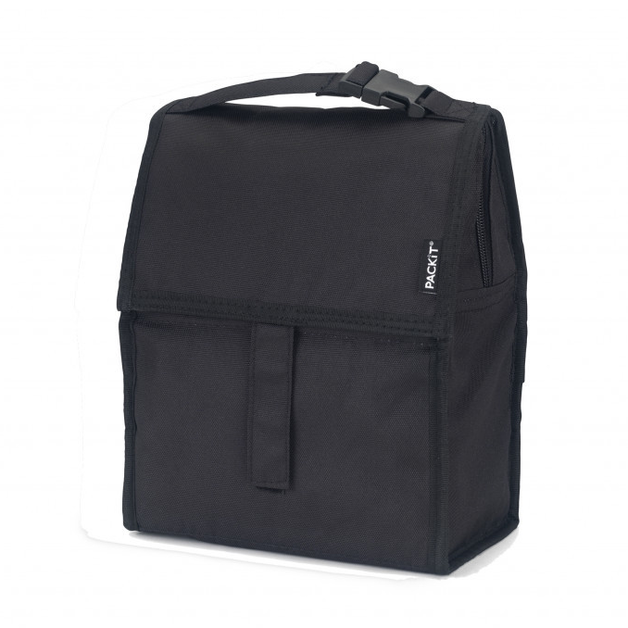 PackIt: Freezable Lunch Bag - Black