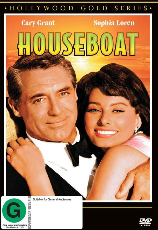 Houseboat on DVD