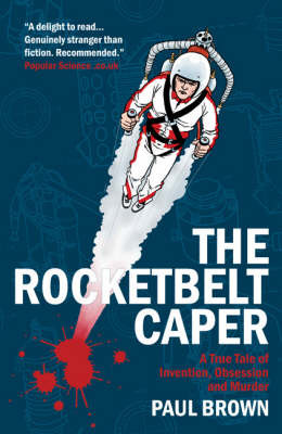The Rocketbelt Caper by Paul Brown image