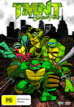 Teenage Mutant Ninja Turtles - Season 5 (3 Disc Box Set) on DVD