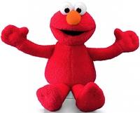 Sesame Street - Mini Beanie Elmo