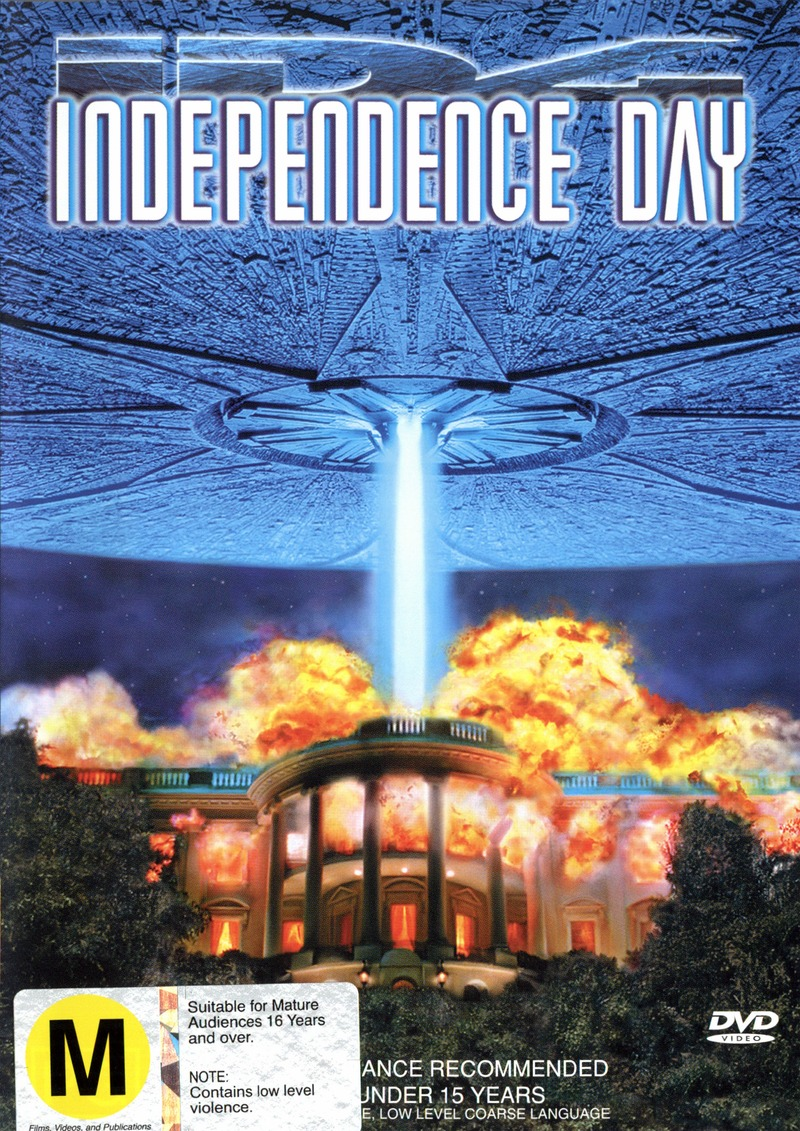Independence Day (Single Disc) on DVD image