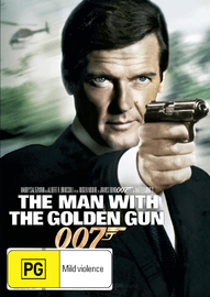 The Man With the Golden Gun (2012 Version) on DVD image