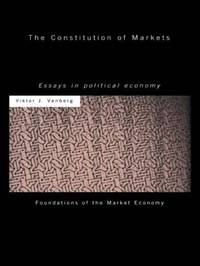 The Constitution of Markets by Viktor J. Vanberg image