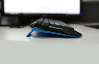 E-Blue Polygon gaming Keyboard (USB) for PC Games image