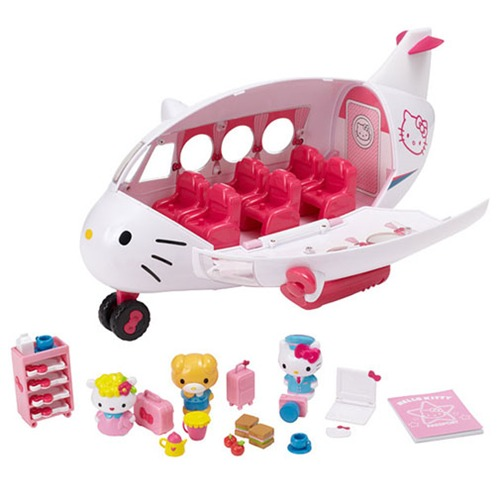 Hello Kitty Toys At Target : Hello kitty jet plane playset toy at mighty ape