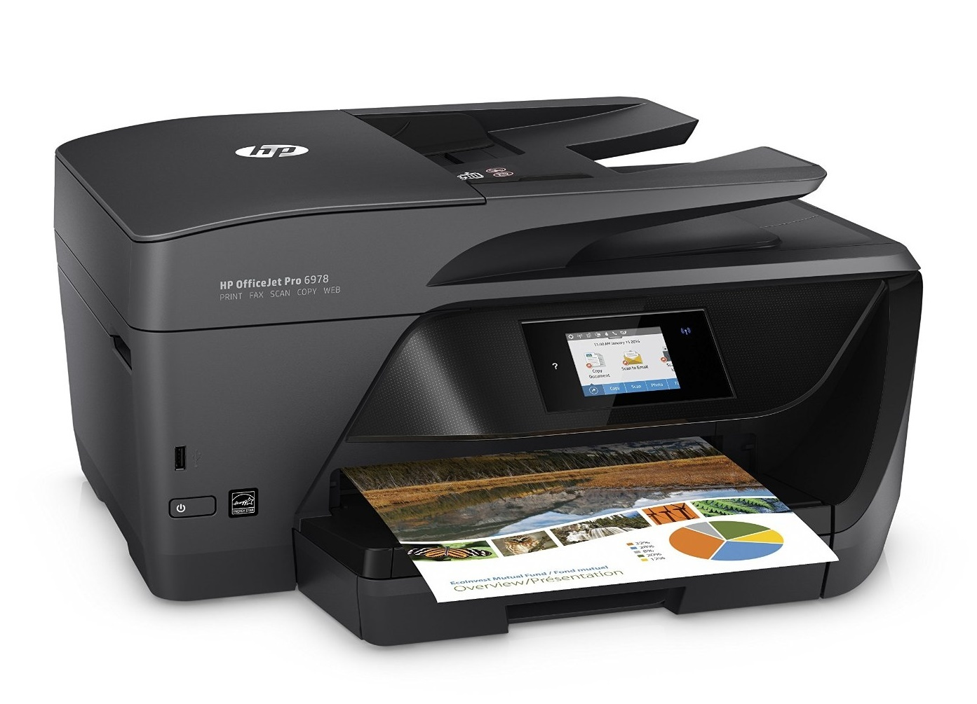 buy hp officejet pro 6960 all in one printer at mighty ape nz. Black Bedroom Furniture Sets. Home Design Ideas