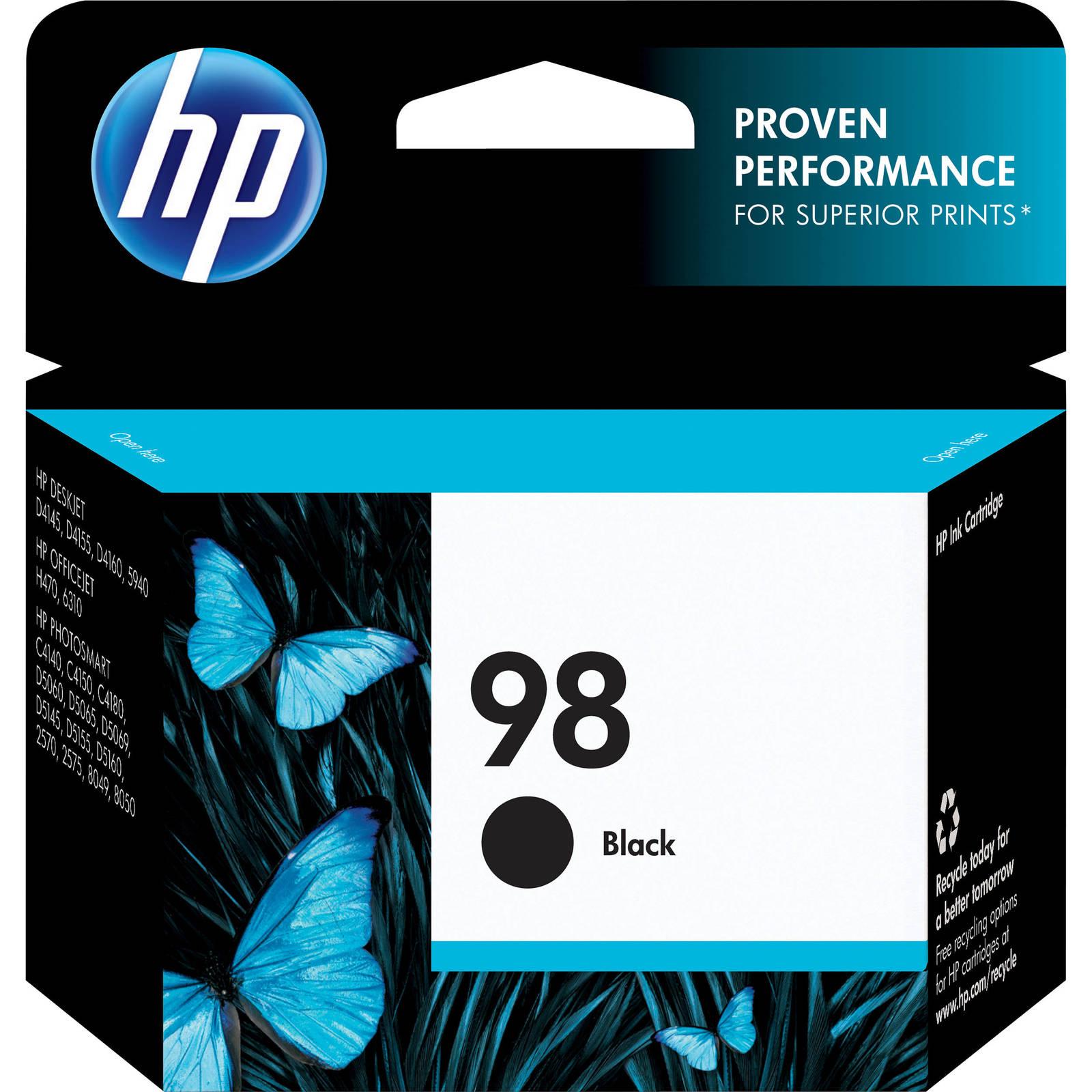HP 98 Black Ink Cartridge image