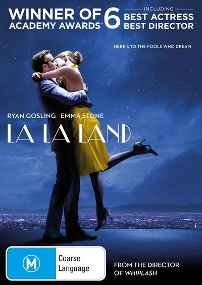 La La Land on DVD