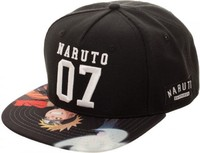 Naruto: Sublimated Bill - Snapback Cap