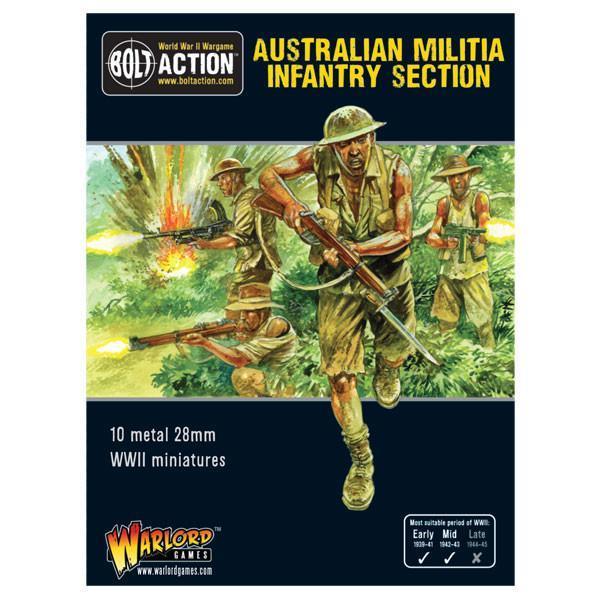 Australian Militia Infantry Section (Pacific) image