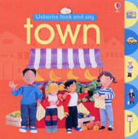 Town by Usborne Look and Say image