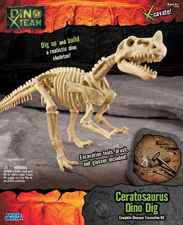 Smithsonian: X-Team Dino Digs - Ceratosaurus