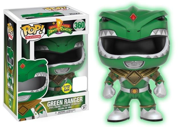 Power Rangers - Green Ranger (Glow) Pop! Vinyl Figure (LIMIT - ONE PER CUSTOMER)