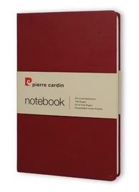 Pierre Cardin: A5 Hard Cover Notebook - Burgundy