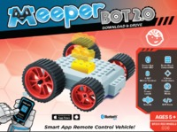 MeeperBot 2.0 - Smart App Controlled Car (Red)