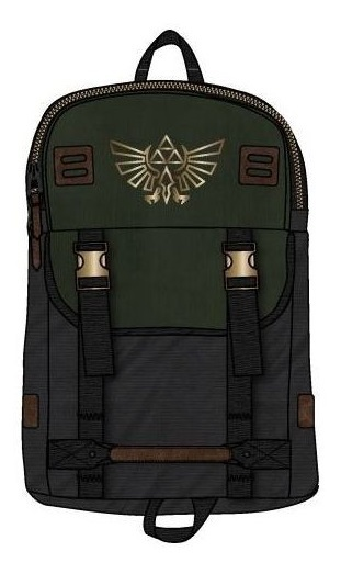 The Legend Of Zelda: Logo Rucksack Backpack