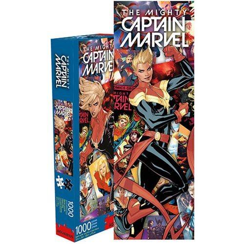 Marvel: 1,000 Piece Slim Puzzle - Captain Marvel Collage