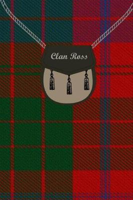 Clan Ross Tartan Journal/Notebook by Clan Ross