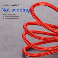3-in-1 Charging Cable - Red (1.2m)