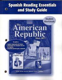 The American Republic Since 1877, Spanish Reading Essentials and Study Guide: Student Workbook image