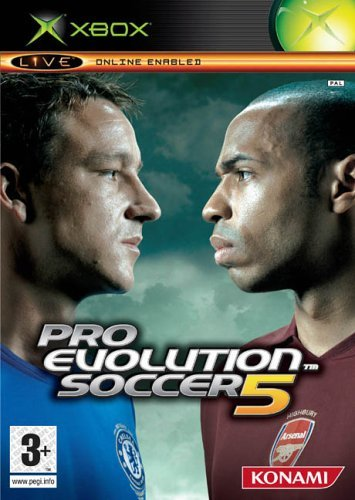 Pro Evolution Soccer 5 for Xbox