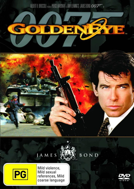 James Bond - Goldeneye on DVD