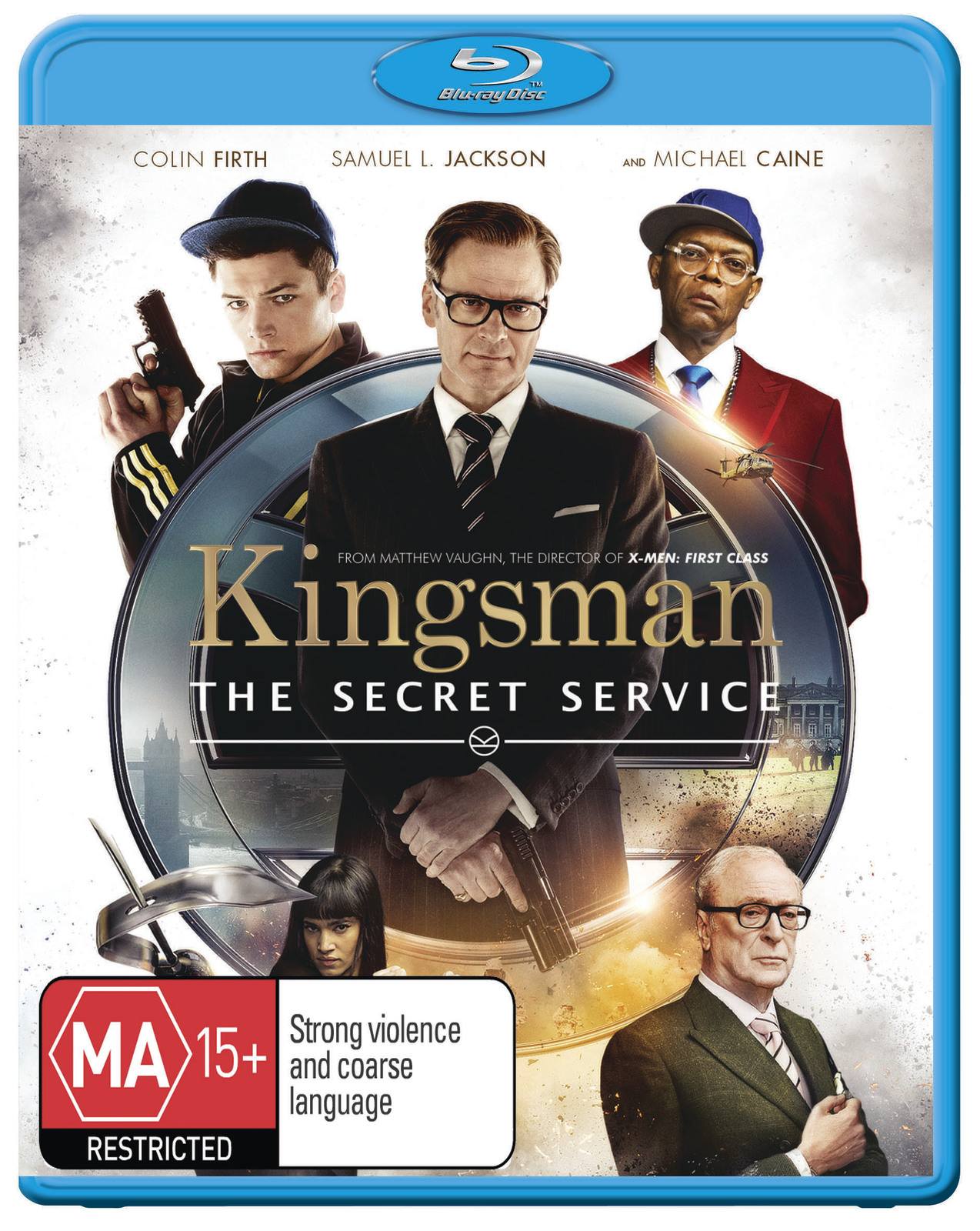 Kingsman: The Secret Service on Blu-ray image
