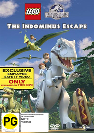 Lego Jurassic World: The Indominus Escape on DVD image