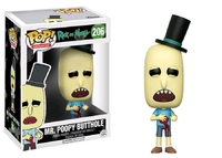 Rick & Morty – Mr. Poopy Butthole (Wounded) Pop! Vinyl Figure
