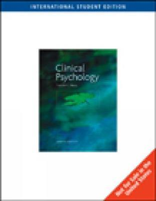 The Science and Practice of Clinical Psychology, International Edition by Timothy J Trull