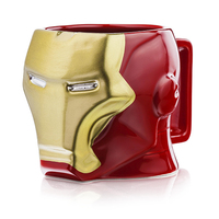 Iron Man 3D Coffee Mug