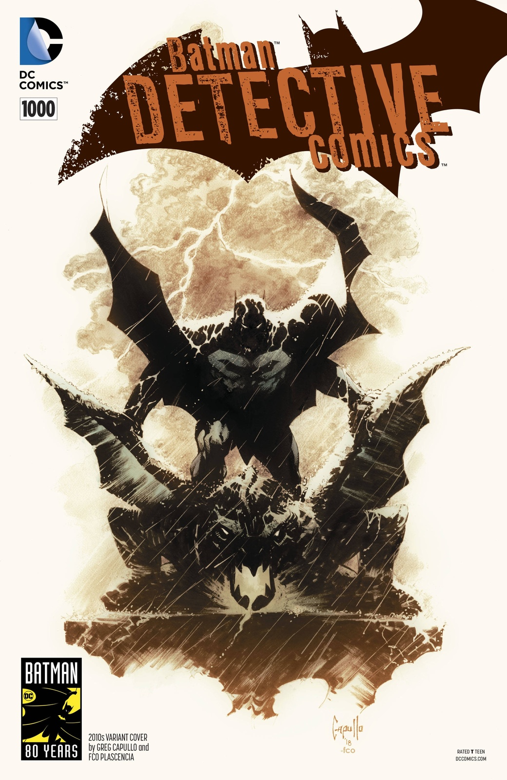 Batman: Detective Comics #1000 - (2010's Variant Edition) by Peter J Tomasi image