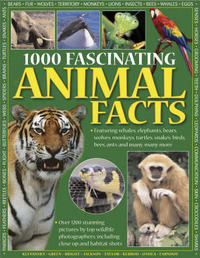 1000 Fascinating Animal Facts by Rhonda Klevansky image