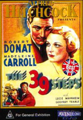 The 39 Steps on DVD