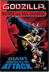 Godzilla, Mothra, And King Ghidorah: Giant Monsters All-out Attack on DVD