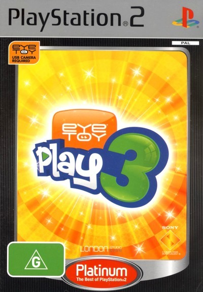 EyeToy Play 3 (Platinum) for PlayStation 2