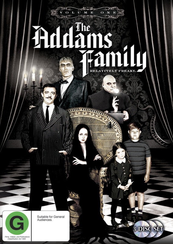 The Addams Family (1964) - Vol. 1 (3 Disc Set) on DVD