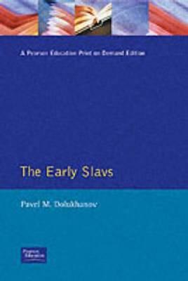 The Early Slavs by Pavel M. Dolukhanov image