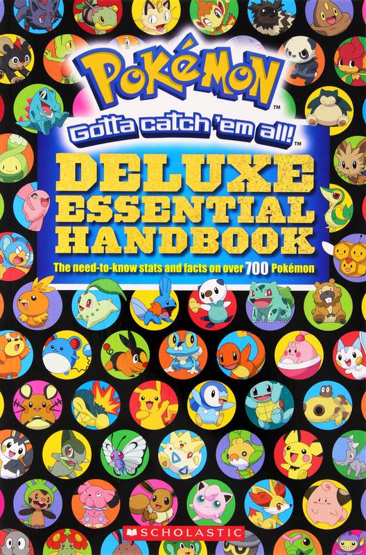 Pokemon: Deluxe Essential Handbook by Cris Silvestri