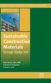 Sustainable Construction Materials by Ravindra K. Dhir