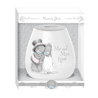Me To You Wedding - Mr & Mrs Money Box (Gift Boxed)