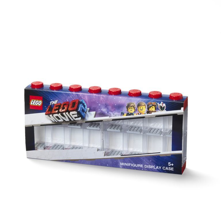 Bedwelming LEGO Movie 2: Minifigure Display Case 16 (Red) | Toy | at Mighty &VH64