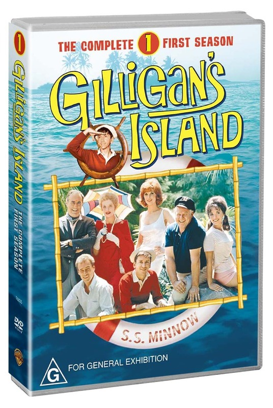 Gilligan's Island - The Complete 1st Season (6 Disc Set on DVD