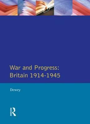 War and Progress by Peter Dewey image