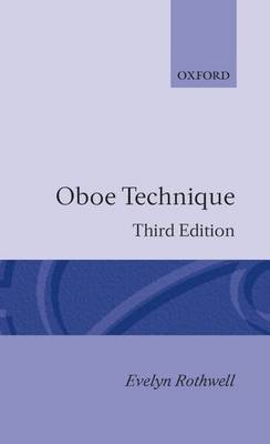 Oboe Technique by Evelyn Rothwell