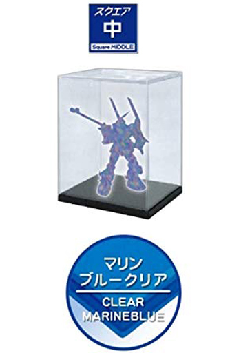 Model Cover UV Protection Medium Marine Blue Clear