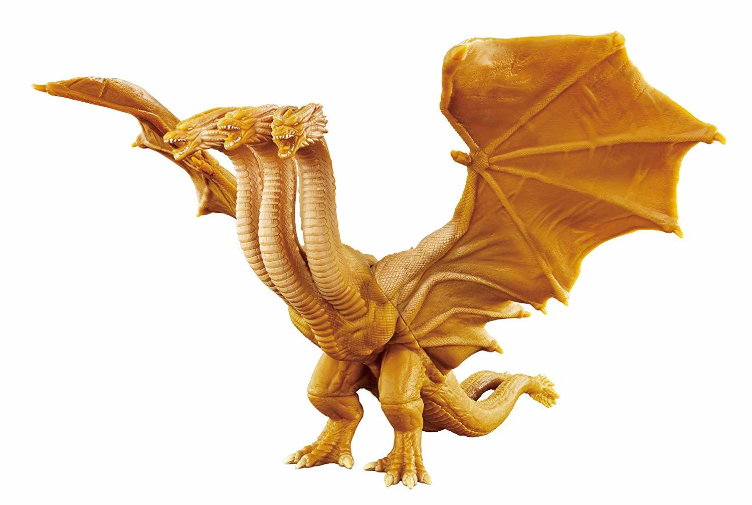Movie Monster Series: King Ghidorah 2019 - Soft Vinyl figure image