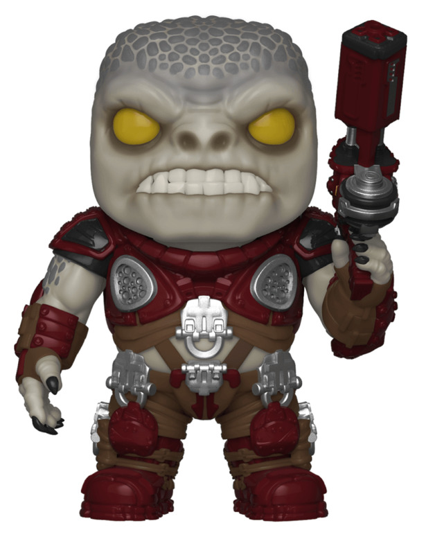 Marcus Fenix Old Man Pop Vinyl Figure At Mighty Ape